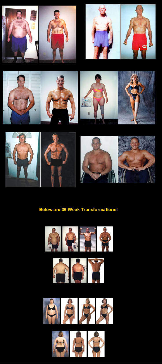 36 Week Weight Loss Transformations