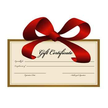 Personal Training Gift Certificate