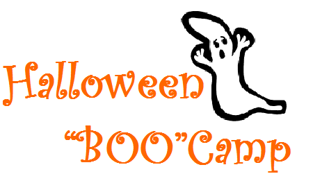 website boo camp sign