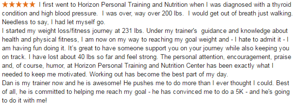 CT Personal Trainer Gym Reviews