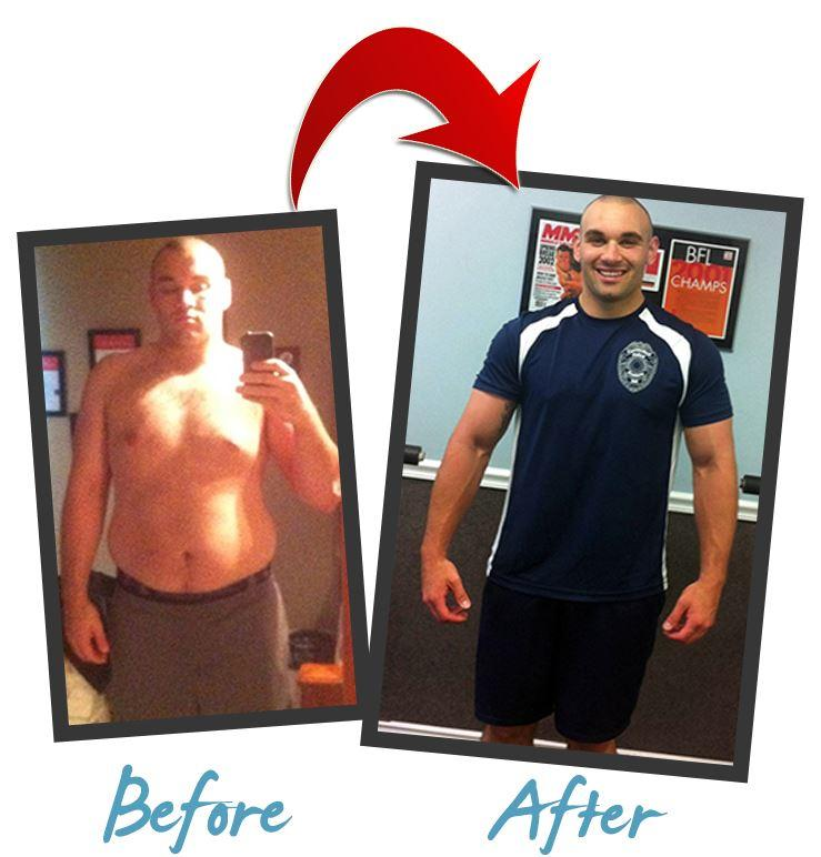 CT Personal Trainer Before and After