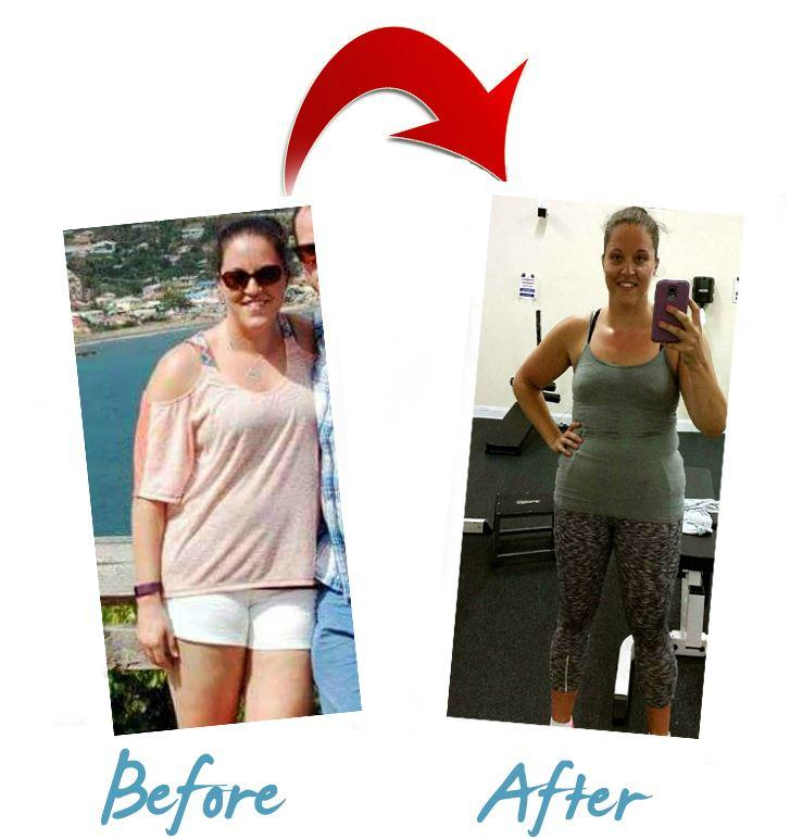 Personal Trainer Weight Loss Transformation in Connecticut