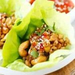 Apple Cinnamon Ground Turkey Lettuce Wraps