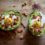 Delicious Baked Avocado & Egg