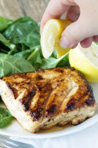 Delicious Baked Halibut Meal