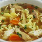 Delicious Homemade Chicken Soup