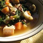 Delicious Kale and Pinto Bean Soup