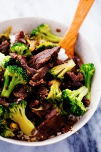 Delicious Protein Packed Beef and Broccoli Dinner