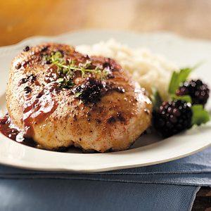 Drizzled Blackberry Chicken
