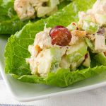 Easy to make Chicken Salad Lettuce Boats