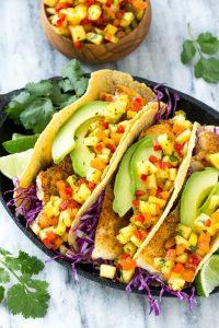Fast & Healthy Fish Tacos