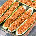 Fiber Filled Zucchini Pasta with Turkey