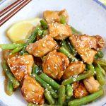 Flavorful Orange Chicken and Green Beans