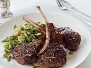 Flavorful Rosemary Lamb Chops