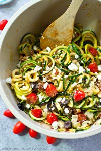Flavorful Zucchini Noodles