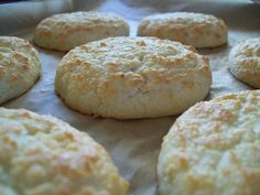 Gluten Free Egg White Biscuits