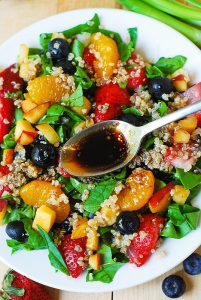 Gluten-Free Quinoa Fruit Salad