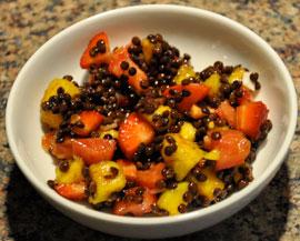 Great Combination Lentil Fruit Salad