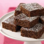 Guilt Free Double Chocolate Mini Brownies