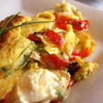Healthy Delicious Chile Omelet