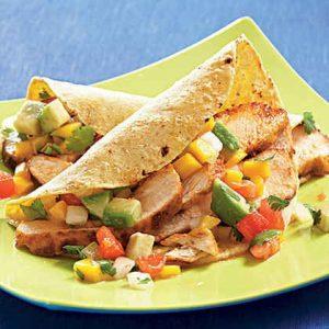 Healthy & Delicious Slow Cooker Chicken Tacos
