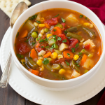 Healthy Easy to Make Turkey & Veggie Soup