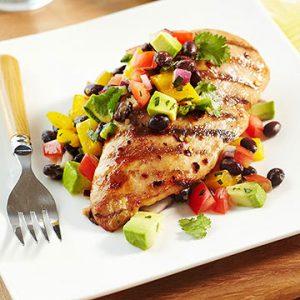 Healthy & Flavorful Stuffed Southwest Chicken