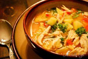 Healthy Hearty Chicken Casserole