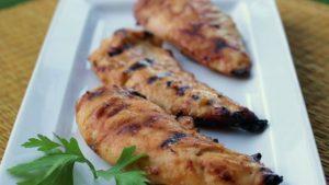 Healthy Honey-Mustard Glazed Grilled Chicken