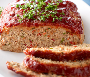 Healthy Organic Turkey Meatloaf