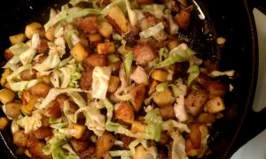 Healthy Perfect & Quick Winter Hash