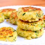 Healthy Seasonal Zucchini Cakes