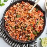 Healthy & Simple Mexican Style Cauliflower Rice