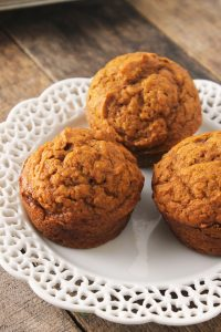 Healthy & Simple Pumpkin Muffins