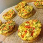 Healthy & Simple Salmon Mini Frittatas