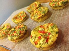 Healthy & Simple Salmon Mini Frittatas