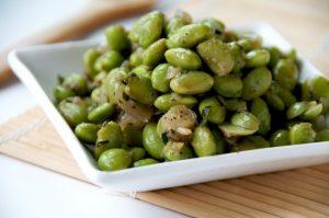 Healthy Simple Sautéed Soybeans