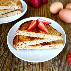 Healthy & Simple Sprouted Grain French Toast
