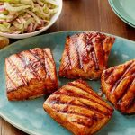 Healthy Sweet Tangy Salmon
