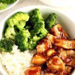 Healthy Teriyaki Chicken Plate