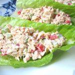 Healthy Tuna Lettuce Wraps