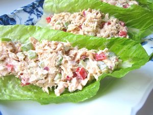 Healthy Tuna Lettuce Wraps