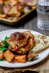 Healthy and Simple Sweet Paprika Chicken & Veggies