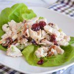 Lean Cranberry Chicken Salad