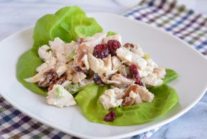 Lean Cranberry Chicken Salad