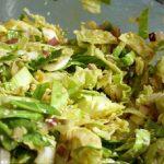 Low Calorie Mint Cabbage Salad