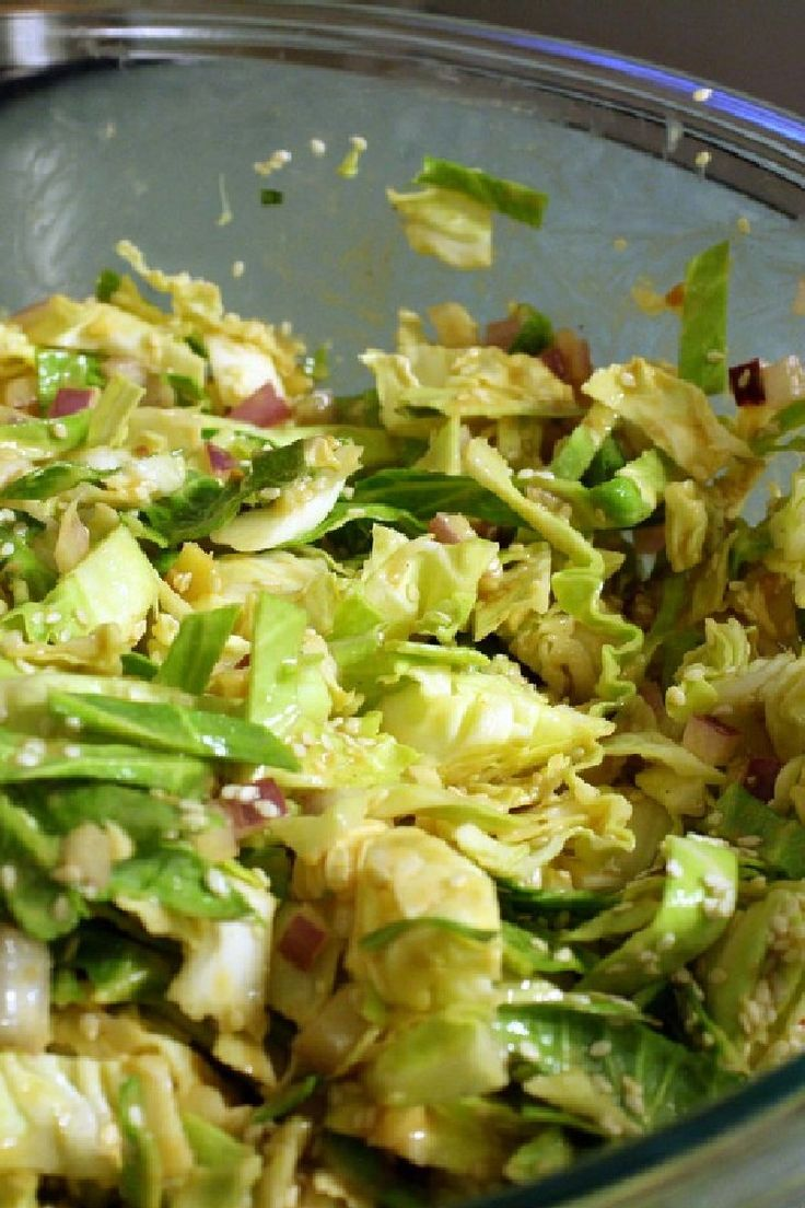Low Calorie Mint Cabbage Salad Horizon Personal Training Nutrition