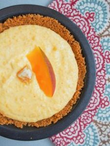 Low Carb Mango Pie