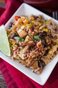 Nutritious BBQ Fiesta Bowl