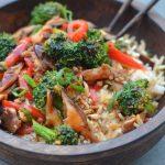 Nutritious Vegetarian Stir- Fry